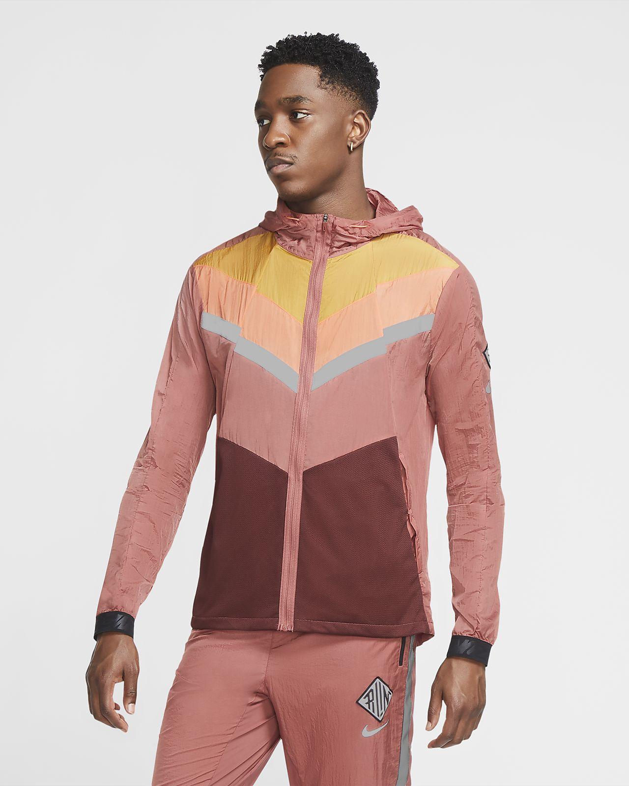 เสื้อแจ็คเก็ตวิ่งผู้ชาย Nike Windrunner Wild Run