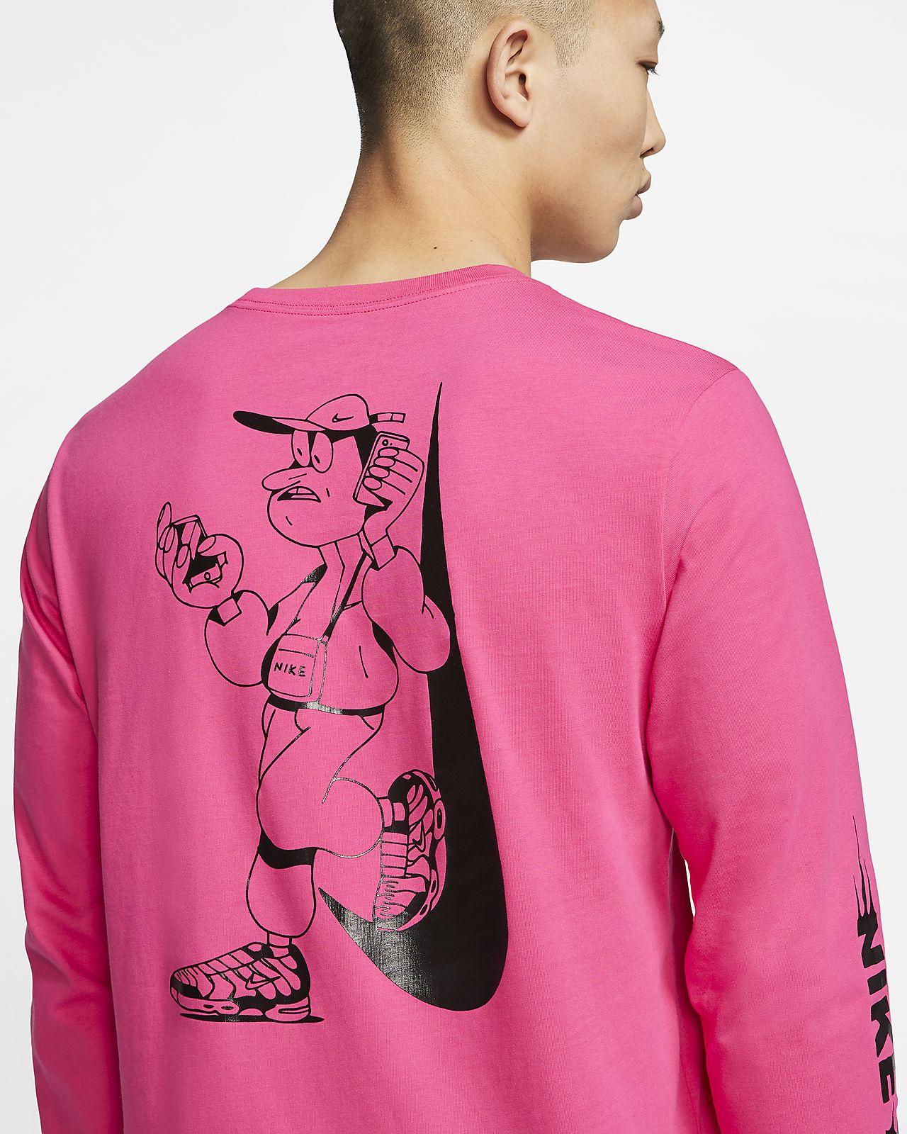 Nike Sportswear Langarm T Shirt für Herren