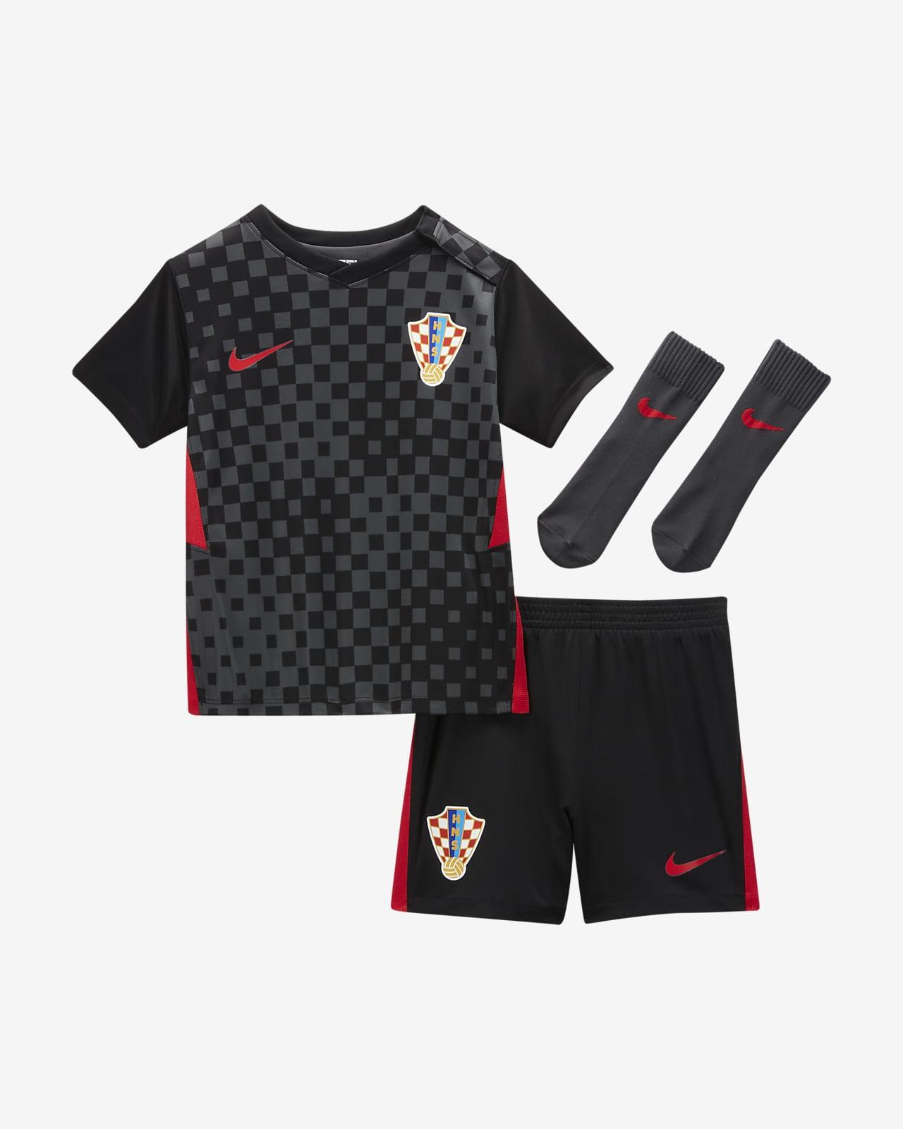 Kroatien 2020 Away Fußballtrikot-Set für Babys und Kleinkinder
