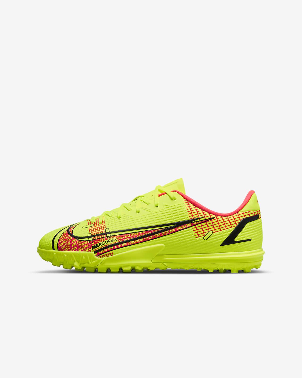 Buty piłkarskie na nawierzchnię typu turf dla małych/dużych dzieci Nike Jr. Mercurial Vapor 14 Academy TF