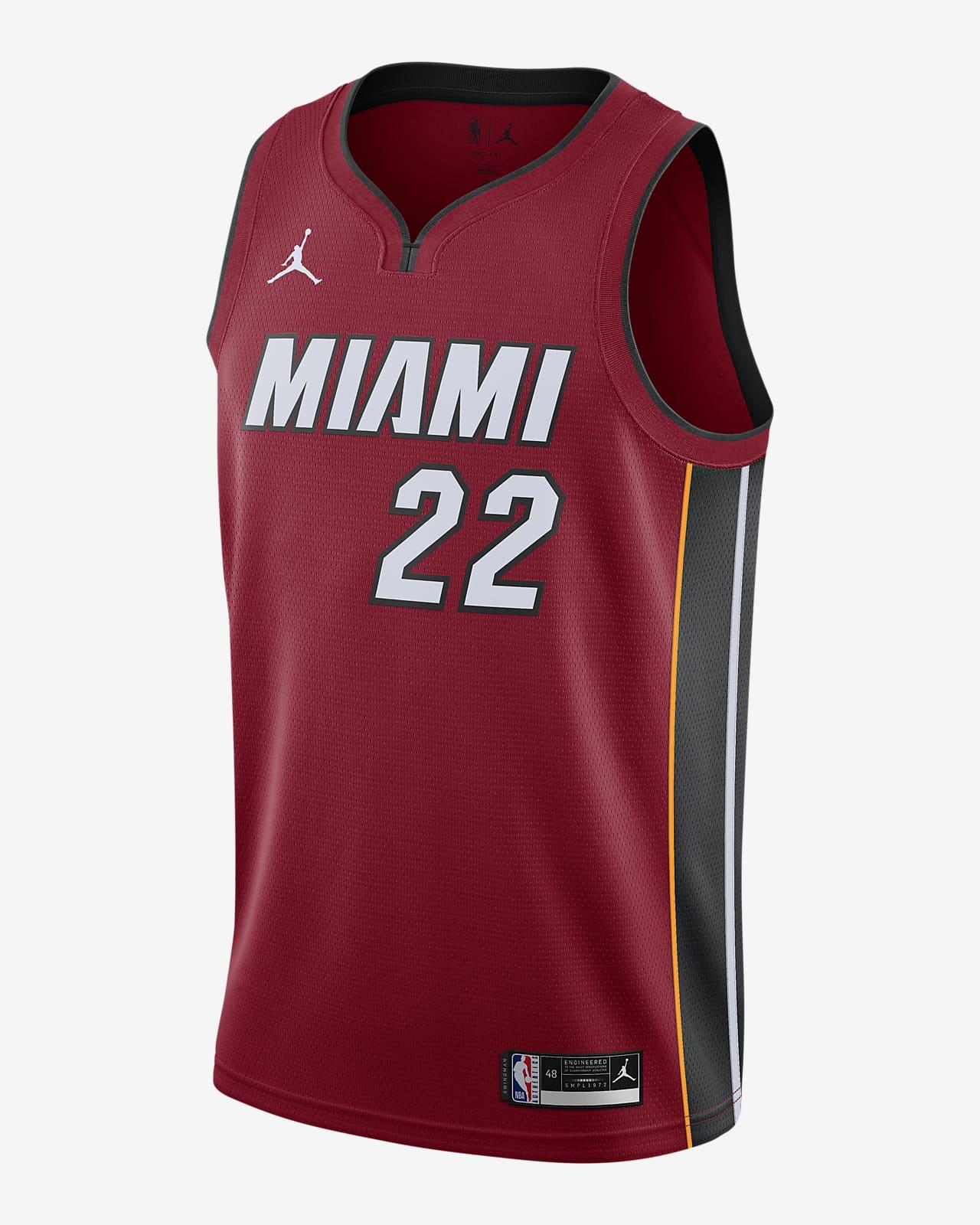 Camiseta Jordan NBA Swingman Jimmy Butler Heat Statement Edition 2020