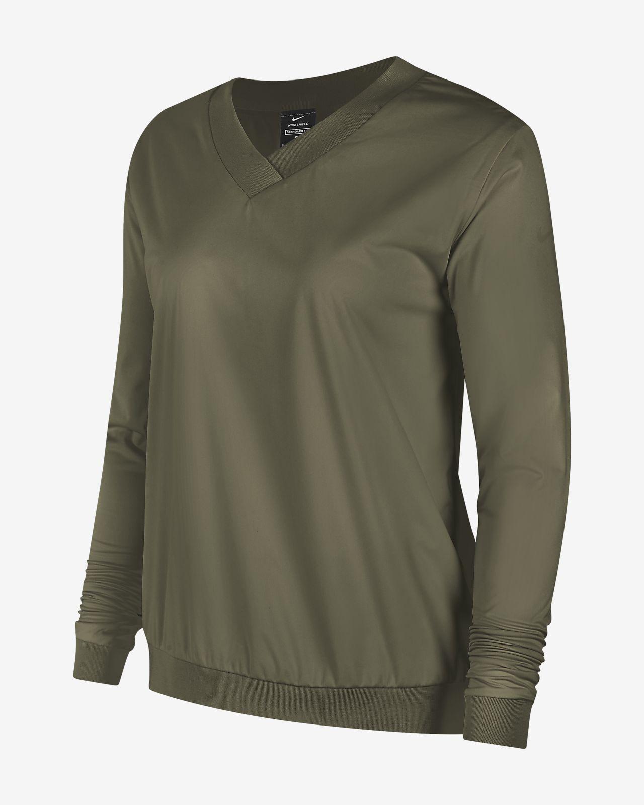 Nike Shield Women's Long-Sleeve Golf Pullover