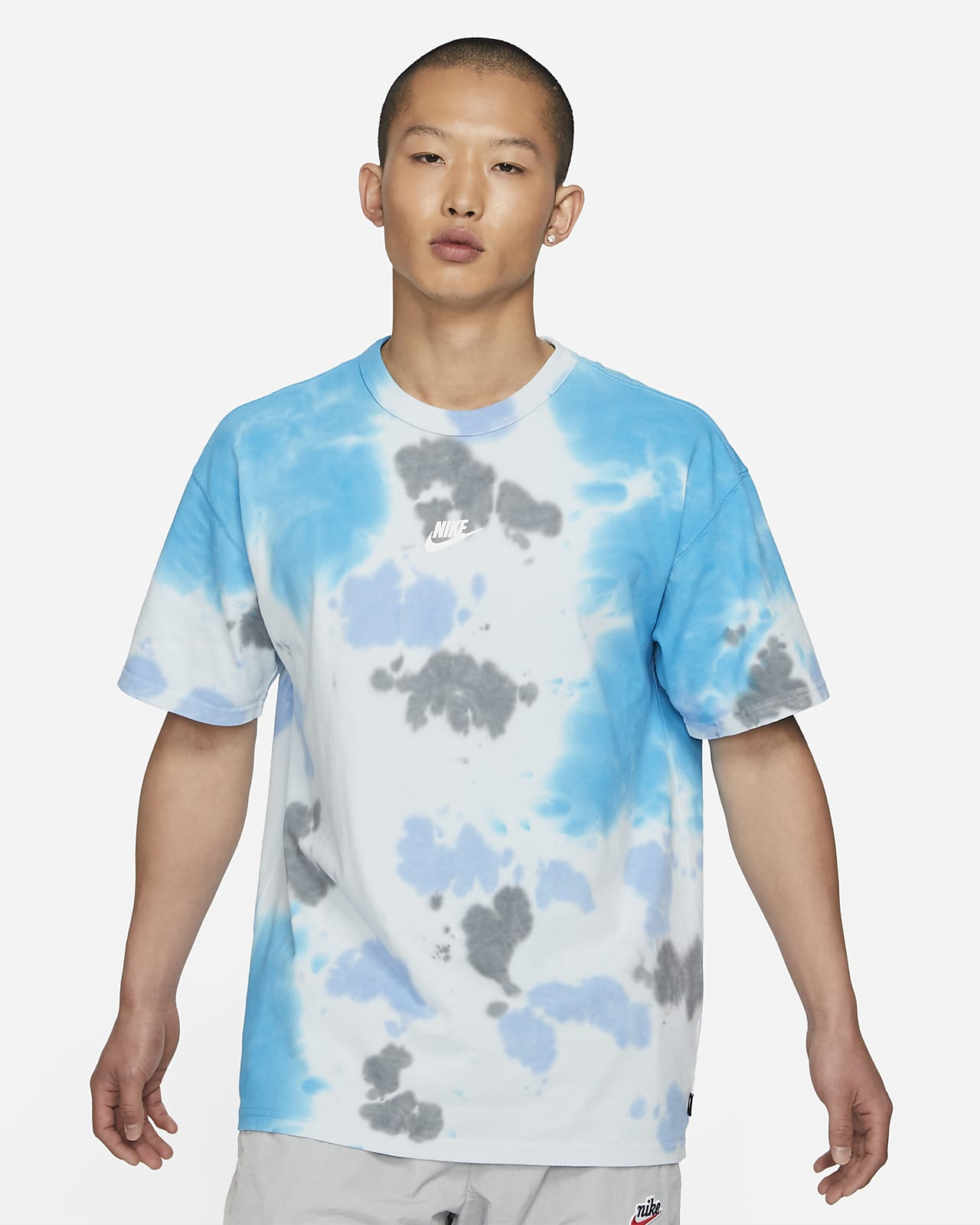 Playera tie-dye para hombre Nike Sportswear Premium Essentials