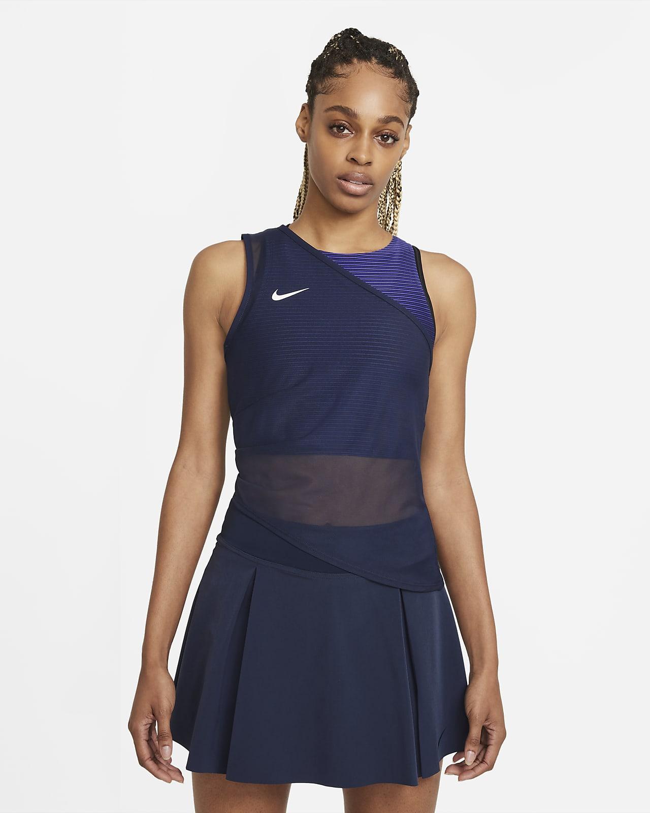 NikeCourt Dri-FIT ADV Slam Tennistanktop voor dames