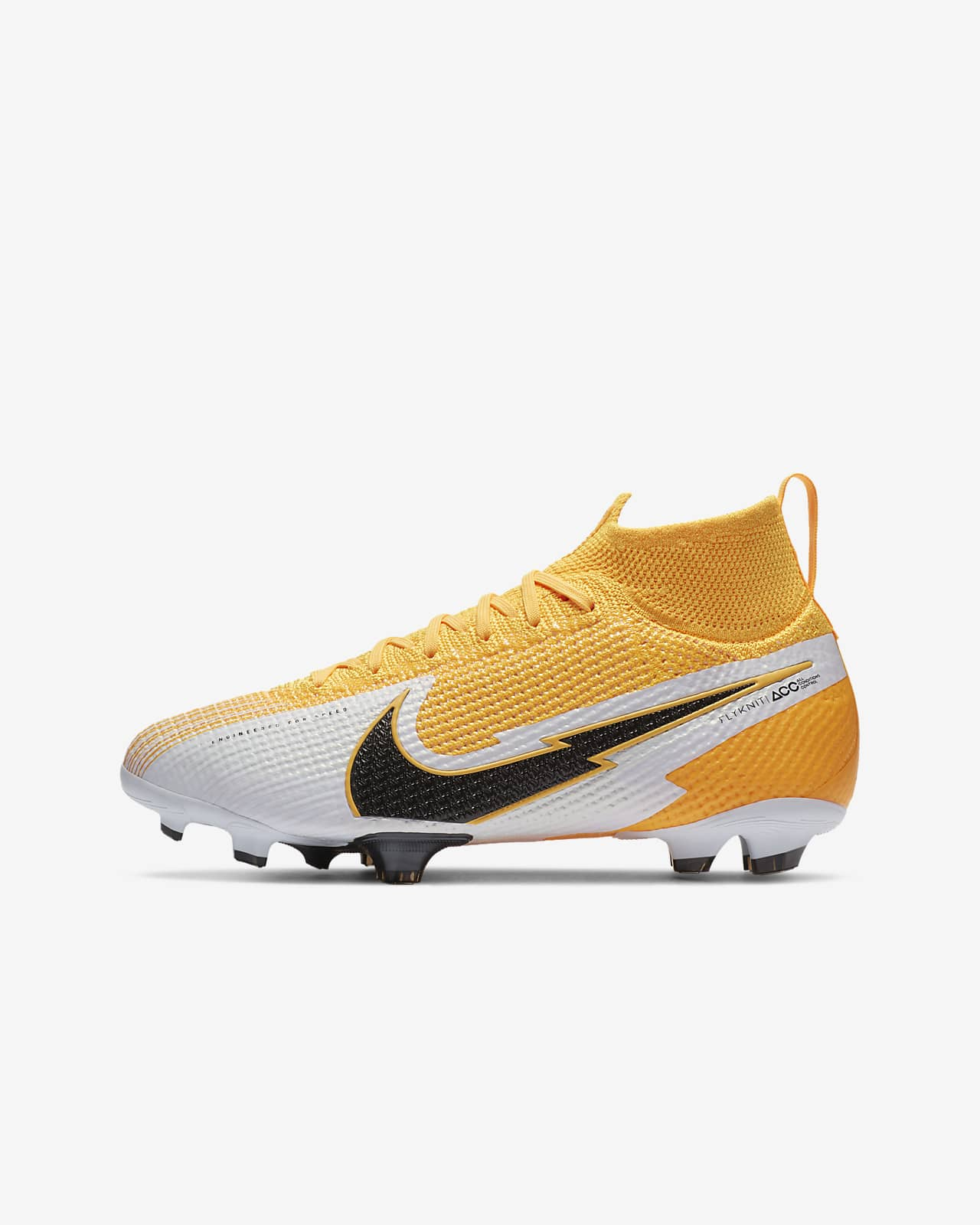 Nike Jr. Mercurial Superfly 7 Elite FG Kids' Firm-Ground Football Boot