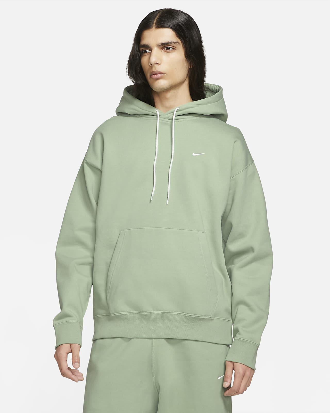 Hoodie de lã cardada NikeLab para homem