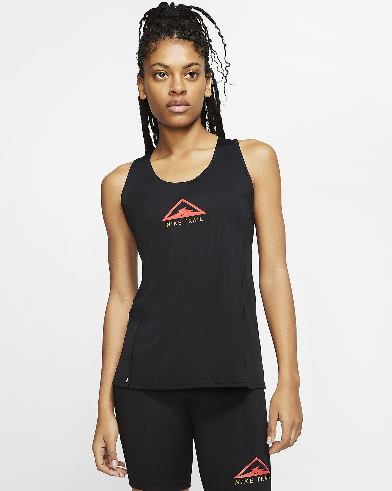Γυναικείο φανελάκι για τρέξιμο σε ανώμαλο δρόμο Nike City Sleek