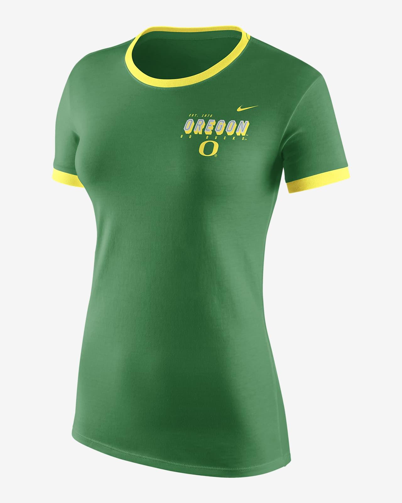 Playera con logotipo para mujer Nike College (Oregon)