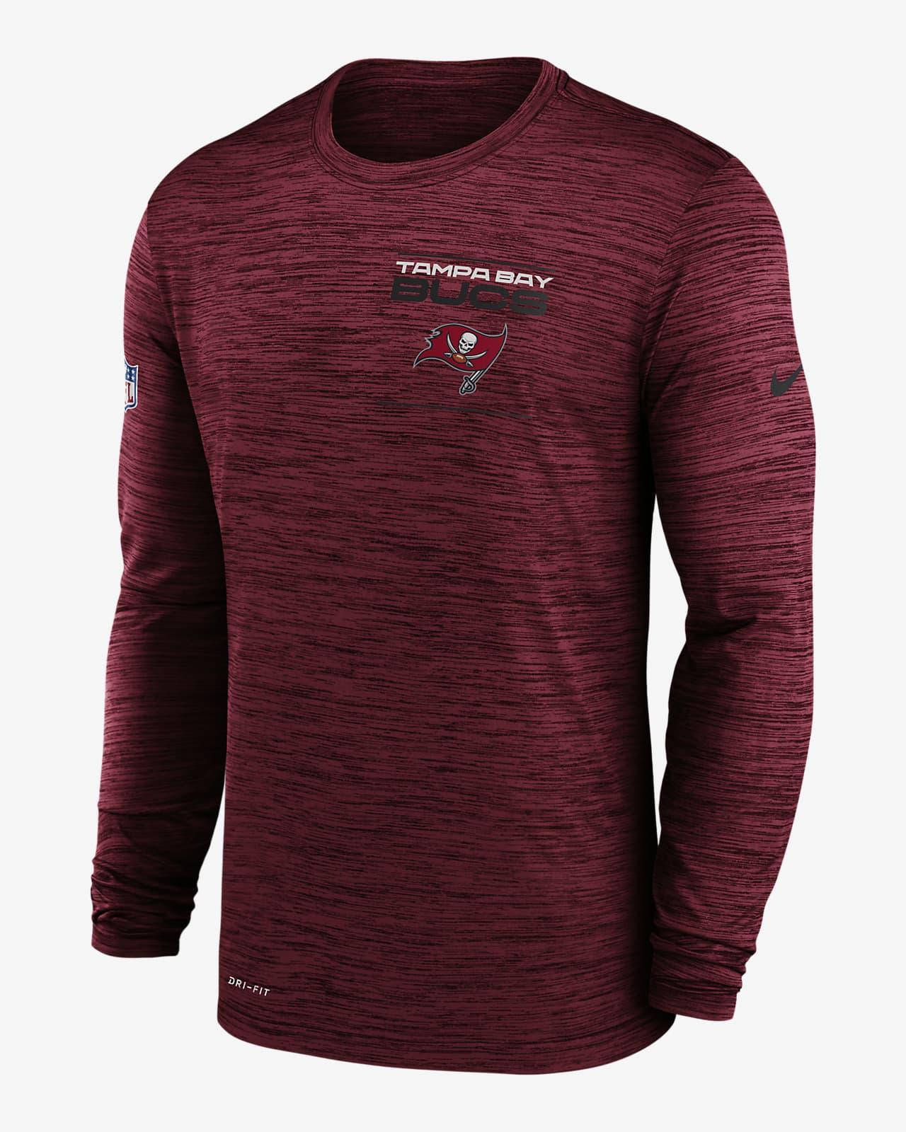 Nike Dri-FIT Sideline Velocity Legend (NFL Tampa Bay Buccaneers) Men's Long-Sleeve T-Shirt
