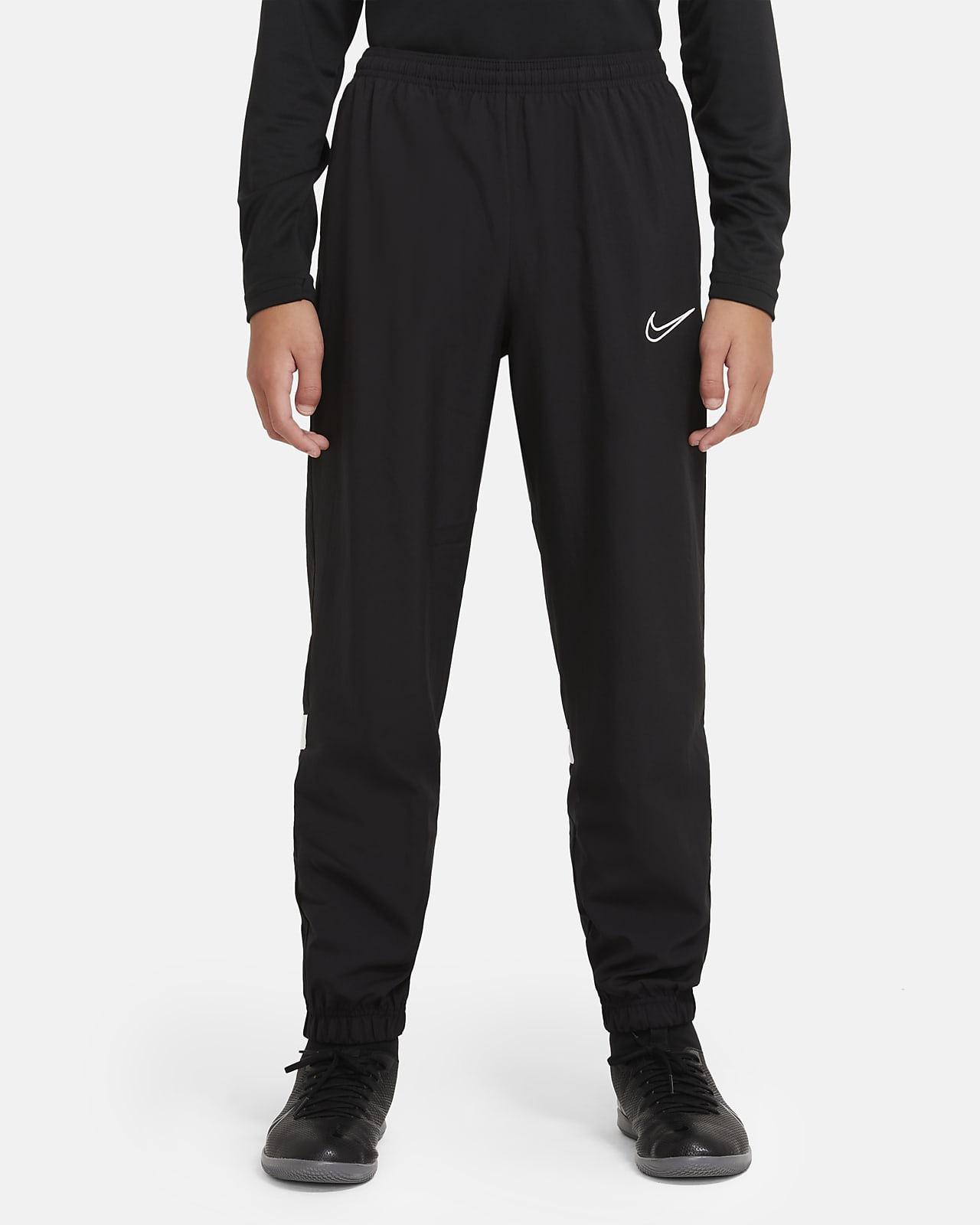 Nike Dri-FIT Academy Older Kids' Woven Football Tracksuit Bottoms