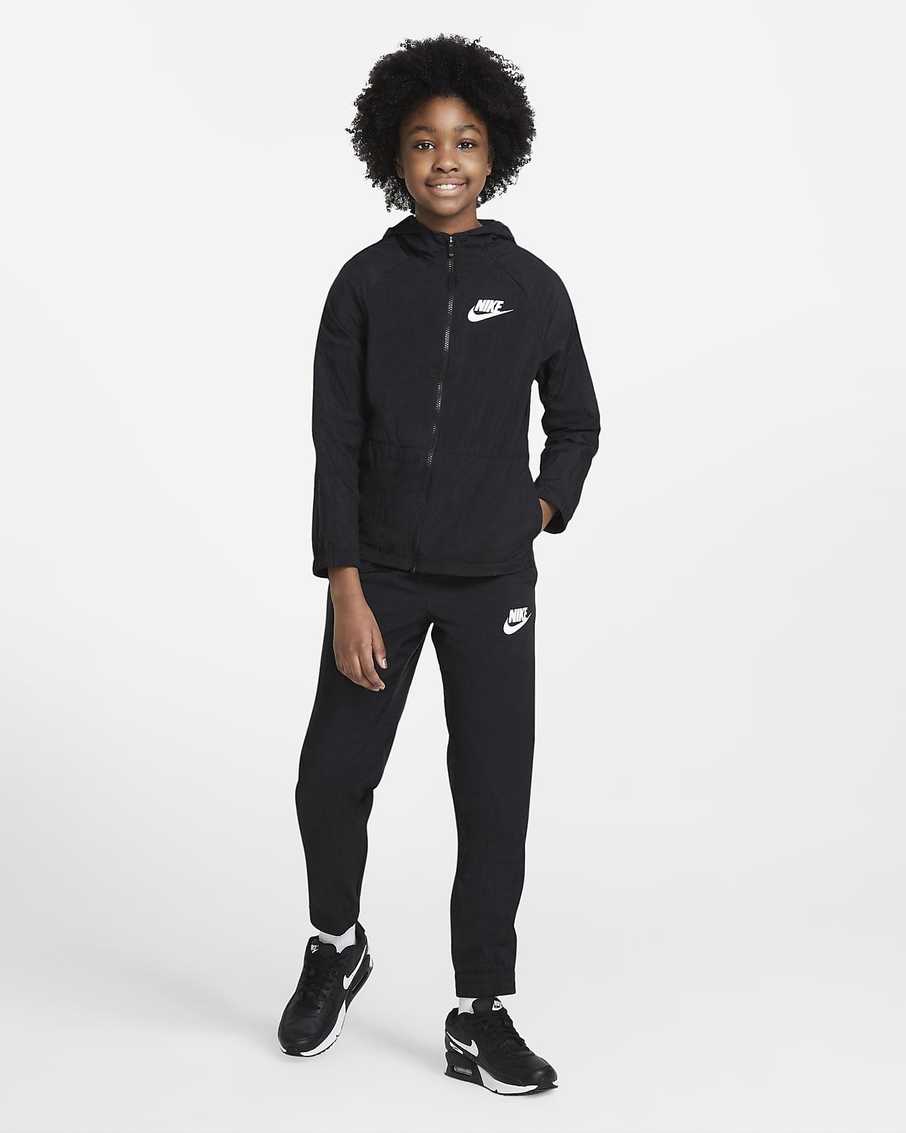 Dres z tkaniny dla dużych dzieci Nike Sportswear