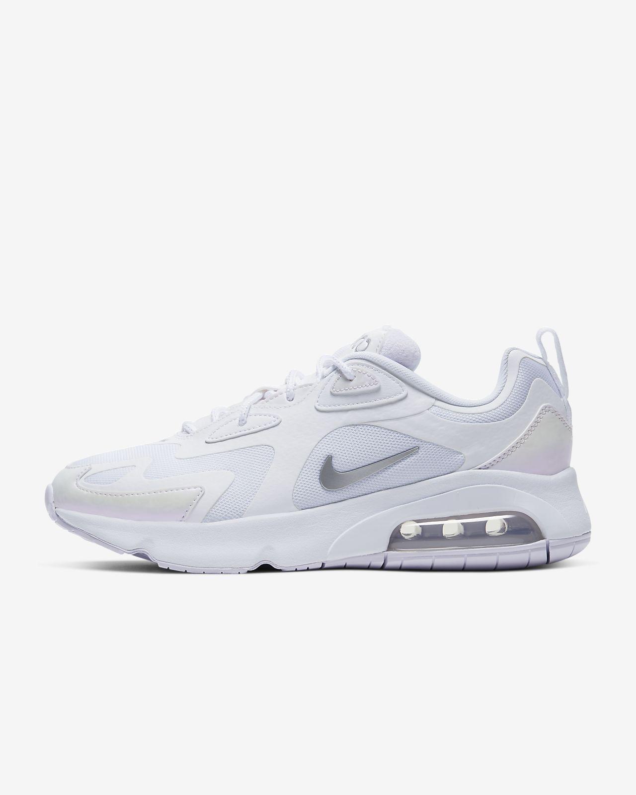 Nike – Air Max 200 – Weiße Sneaker