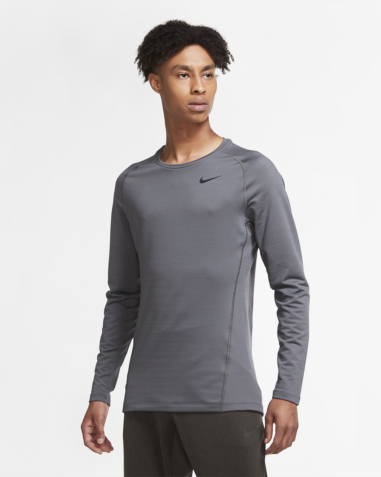 Nike Pro Warm Men's Long-Sleeve Top