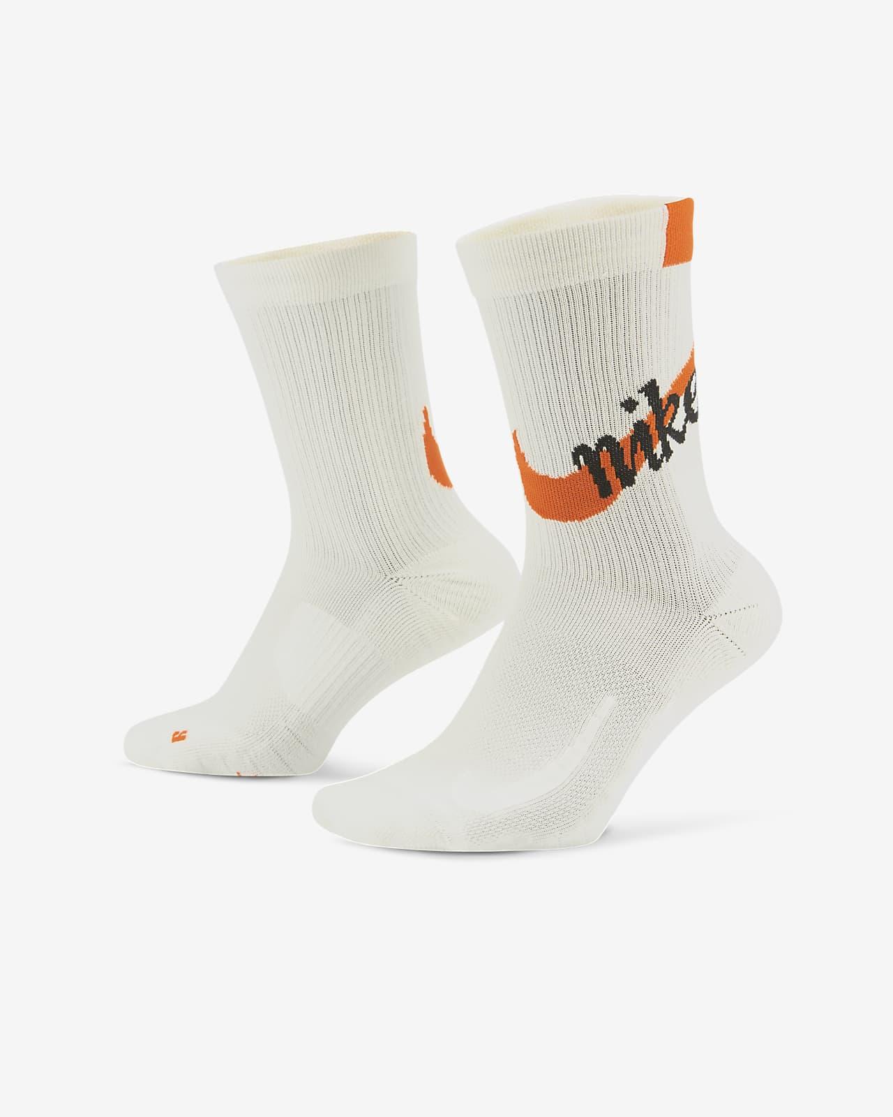 Chaussettes de running mi-mollet Nike Multiplier
