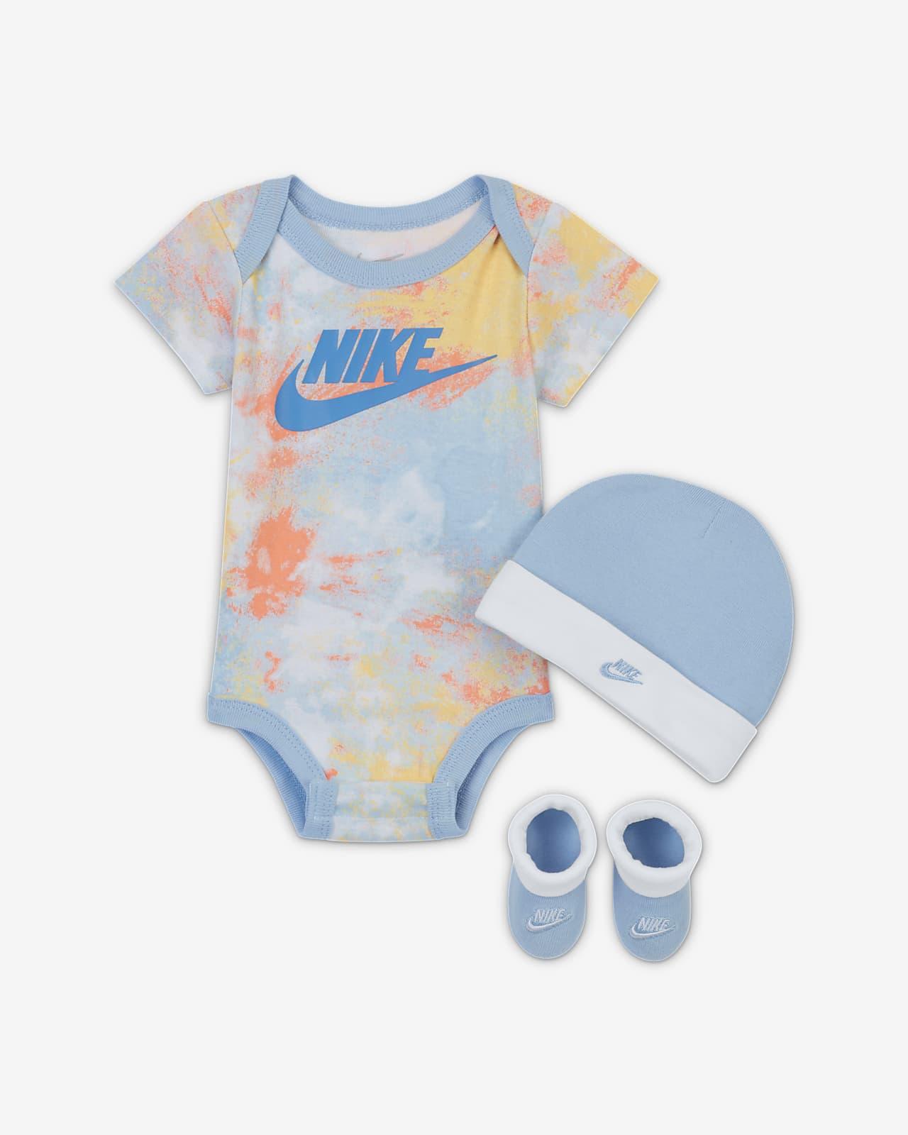 Conjunto de 3 piezas Tie-Dye para bebé Nike