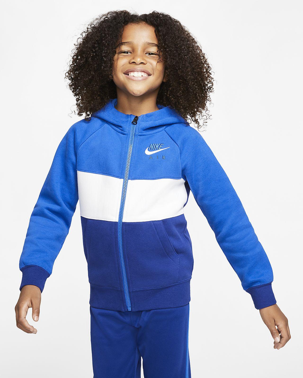 Nike Sportswear 幼童全长拉链开襟连帽衫