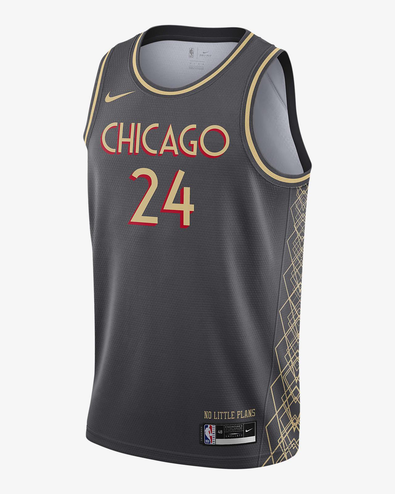 Φανέλα Nike NBA Swingman Σικάγο Μπουλς City Edition