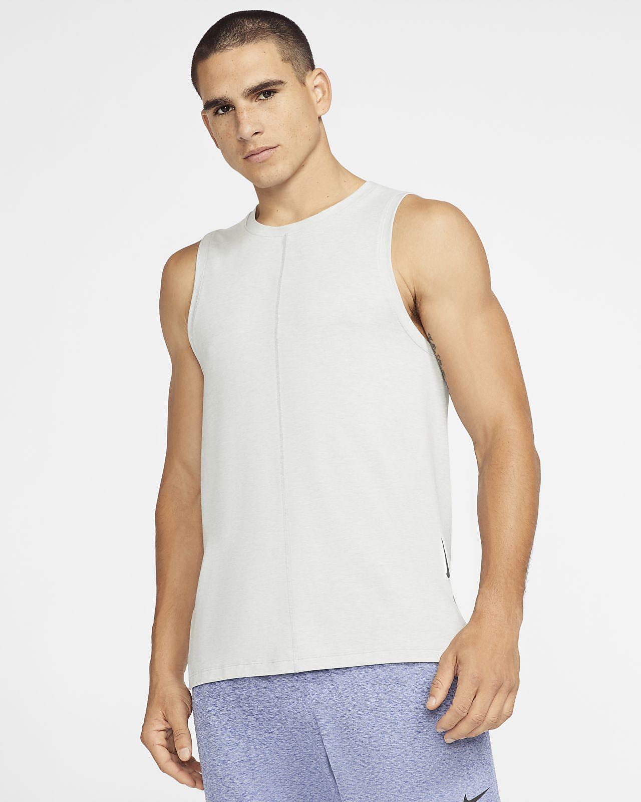 Camisola sem mangas Nike Yoga para homem
