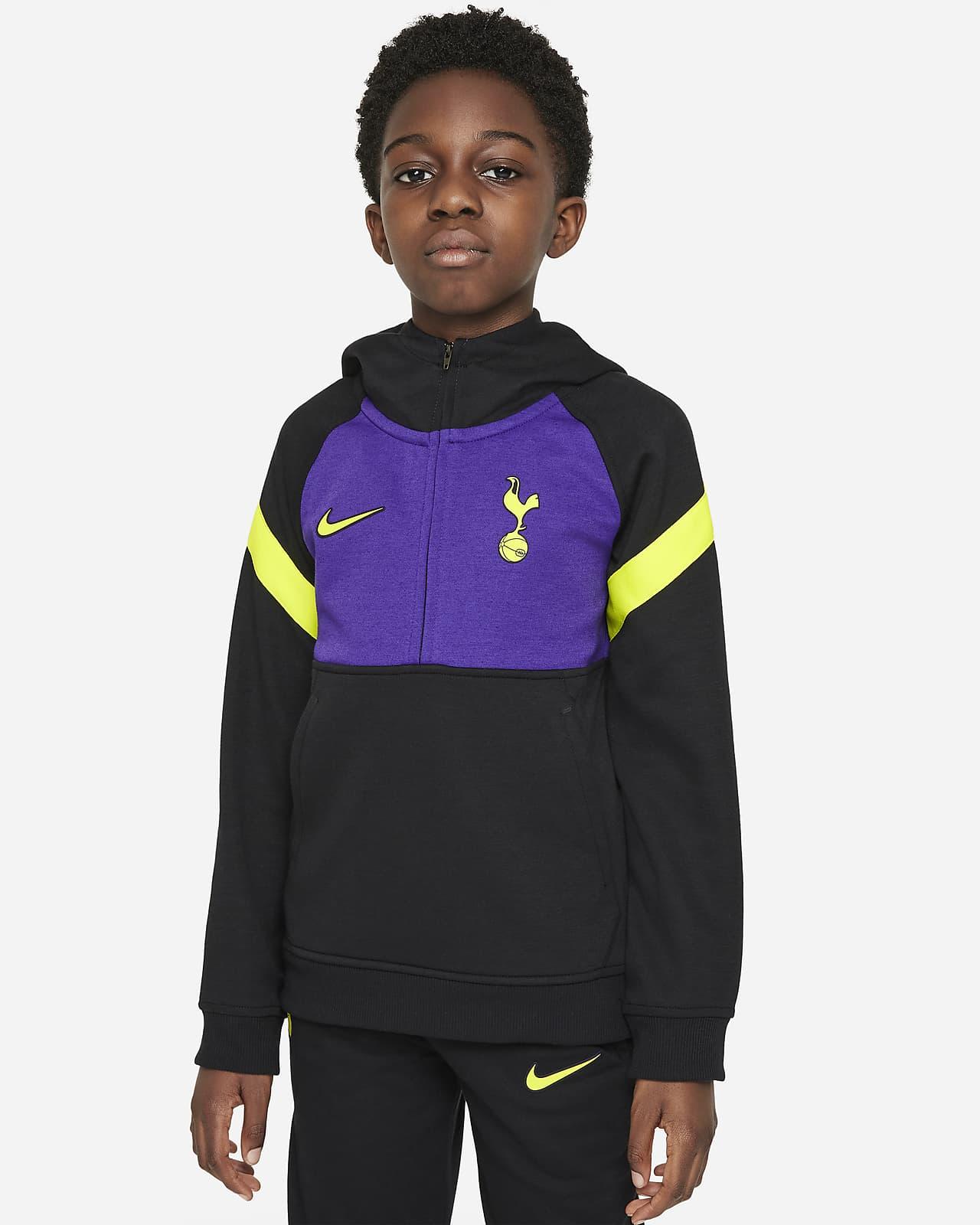 Tottenham Hotspur Older Kids' Nike Dri-FIT 1/2-Zip Football Hoodie