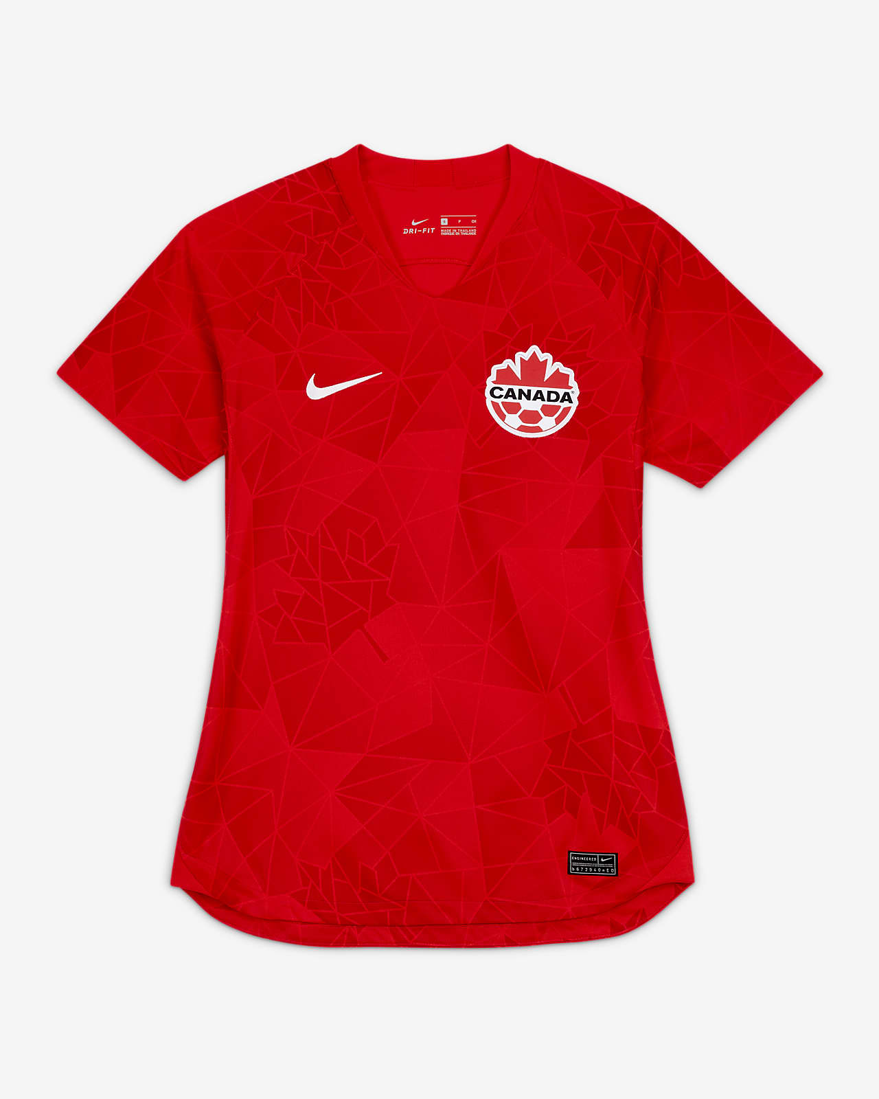 Canada 2020 Stadium Home Women's Football Shirt