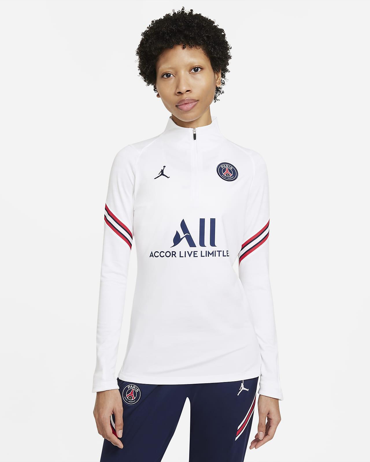 Paris Saint-Germain Strike Women's Nike Dri-FIT Football Drill Top