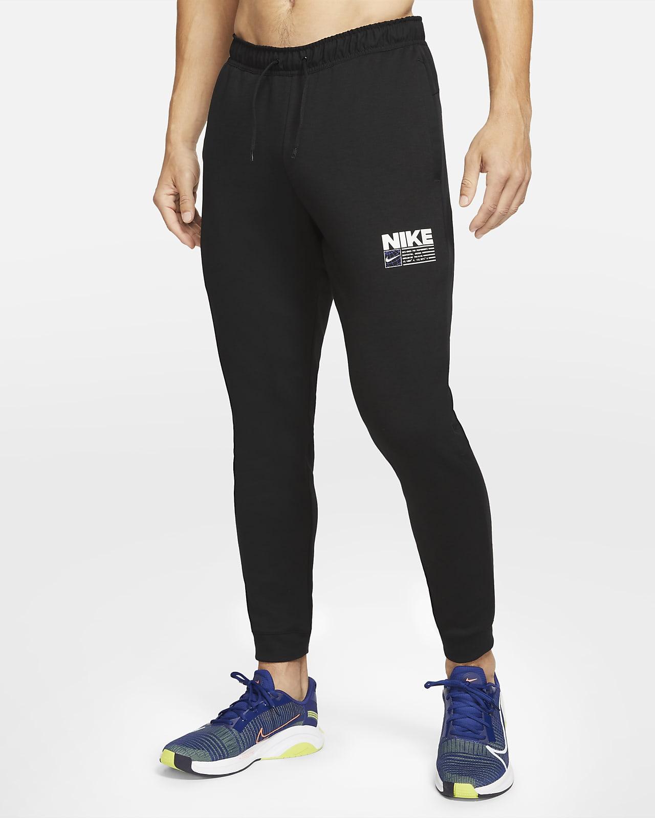 Nike Dri-FIT-faconsyede træningsbukser til mænd