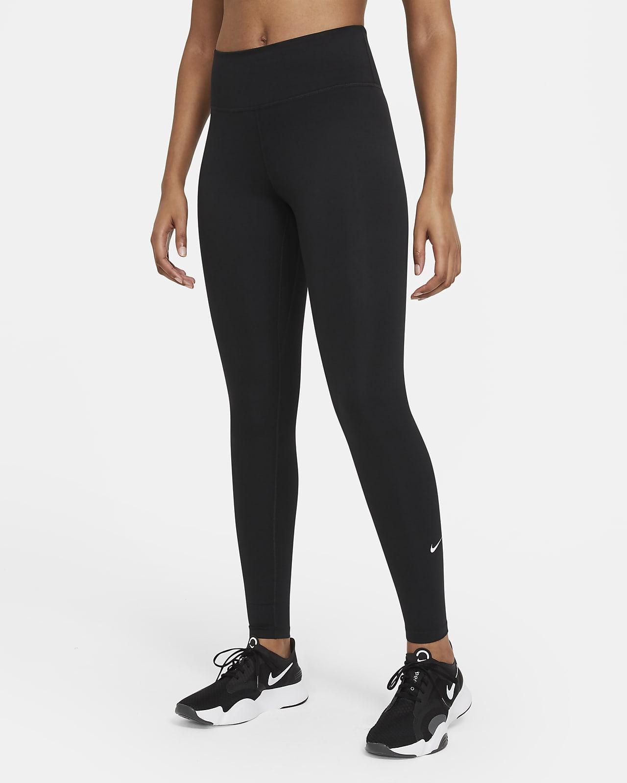 Leggings med mellanhög midja Nike One Dri-FIT för kvinnor