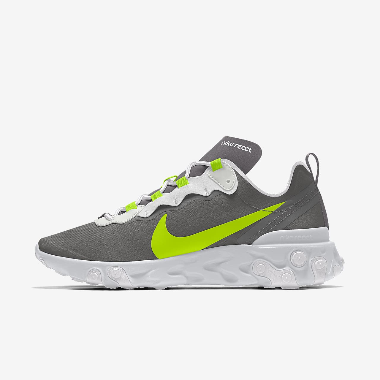Nike React Element 55 By You personalisierbarer Herren-Freizeitschuh