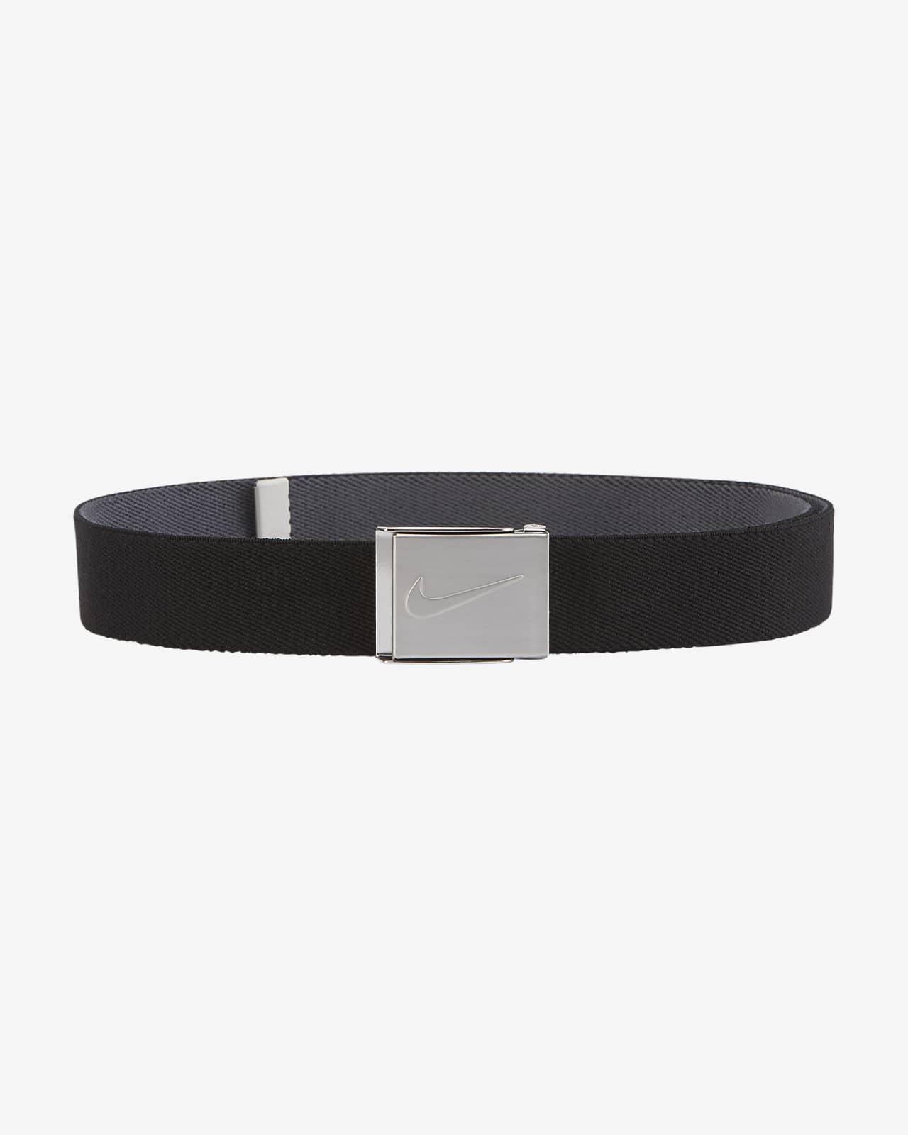 Cinturón de golf de tela elástica reversible para hombre Nike