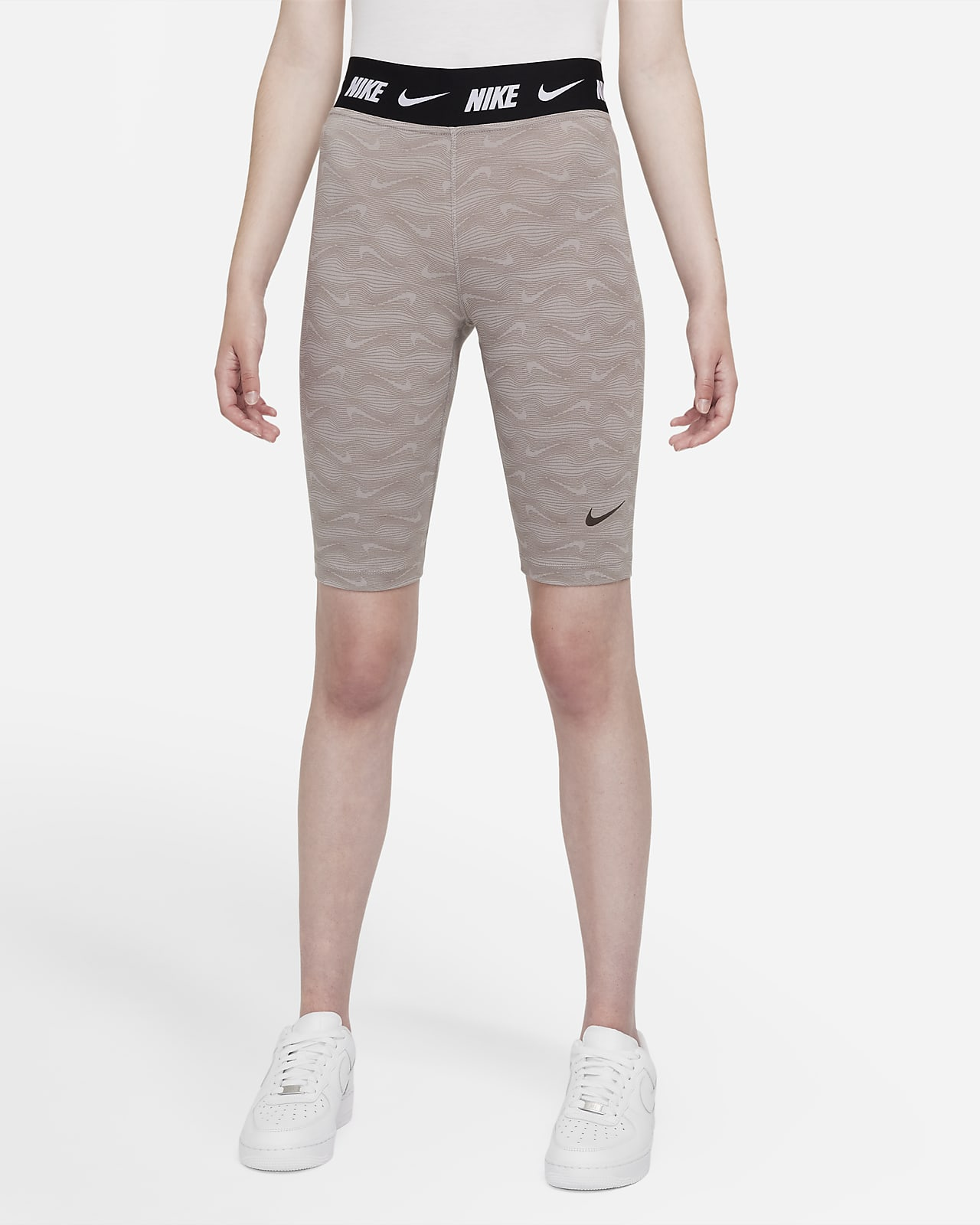 Nike Sportswear Damesshorts met print