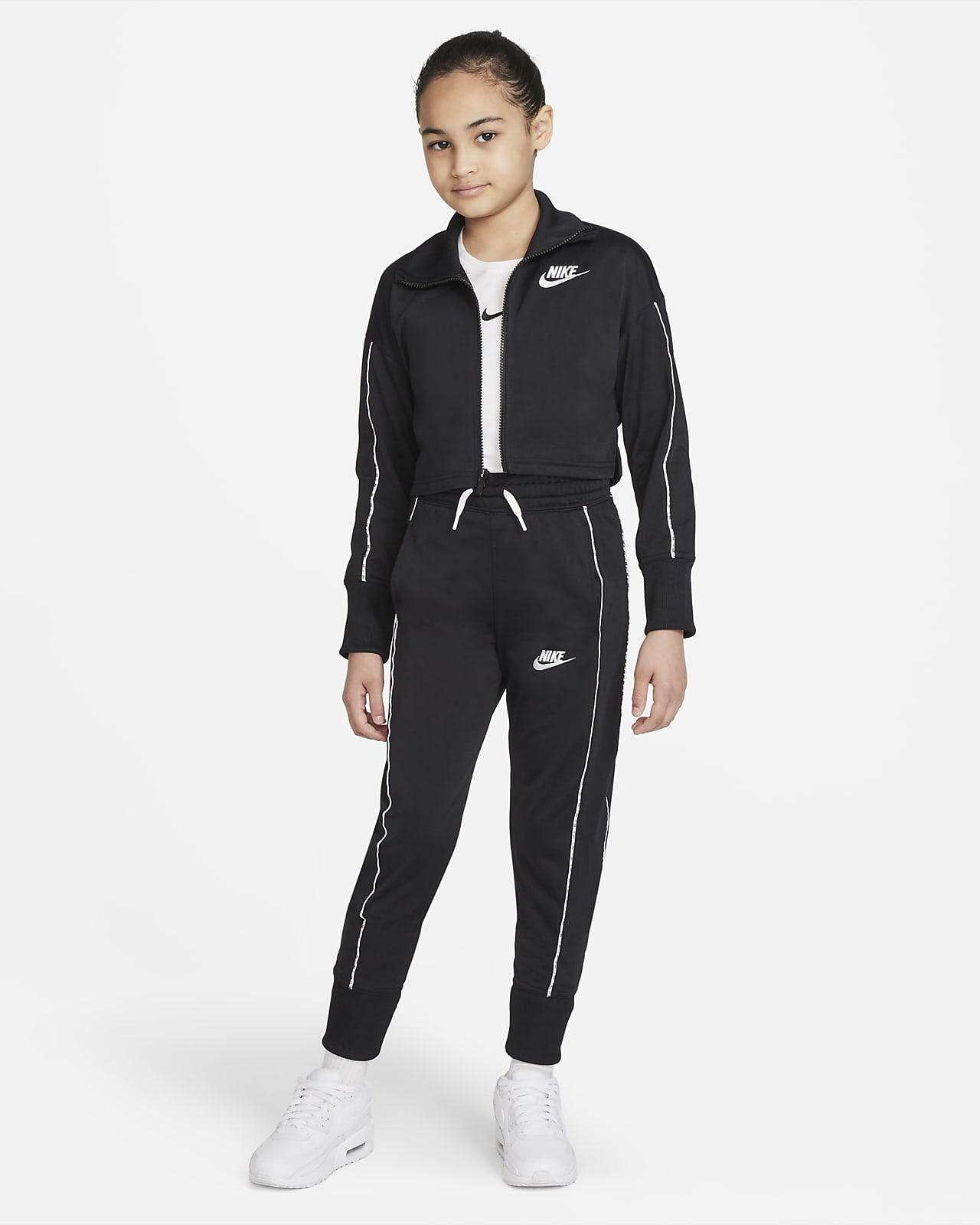 Fato de treino de cintura subida Nike Sportswear Júnior (Rapariga)