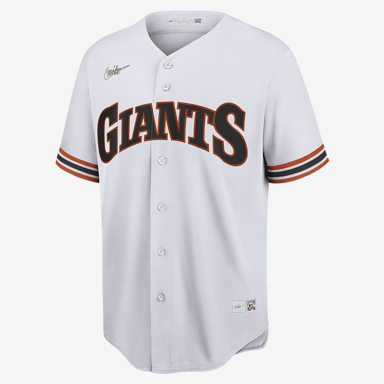 MLB San Francisco Giants (Will Clark) Men's Cooperstown Baseball Jersey