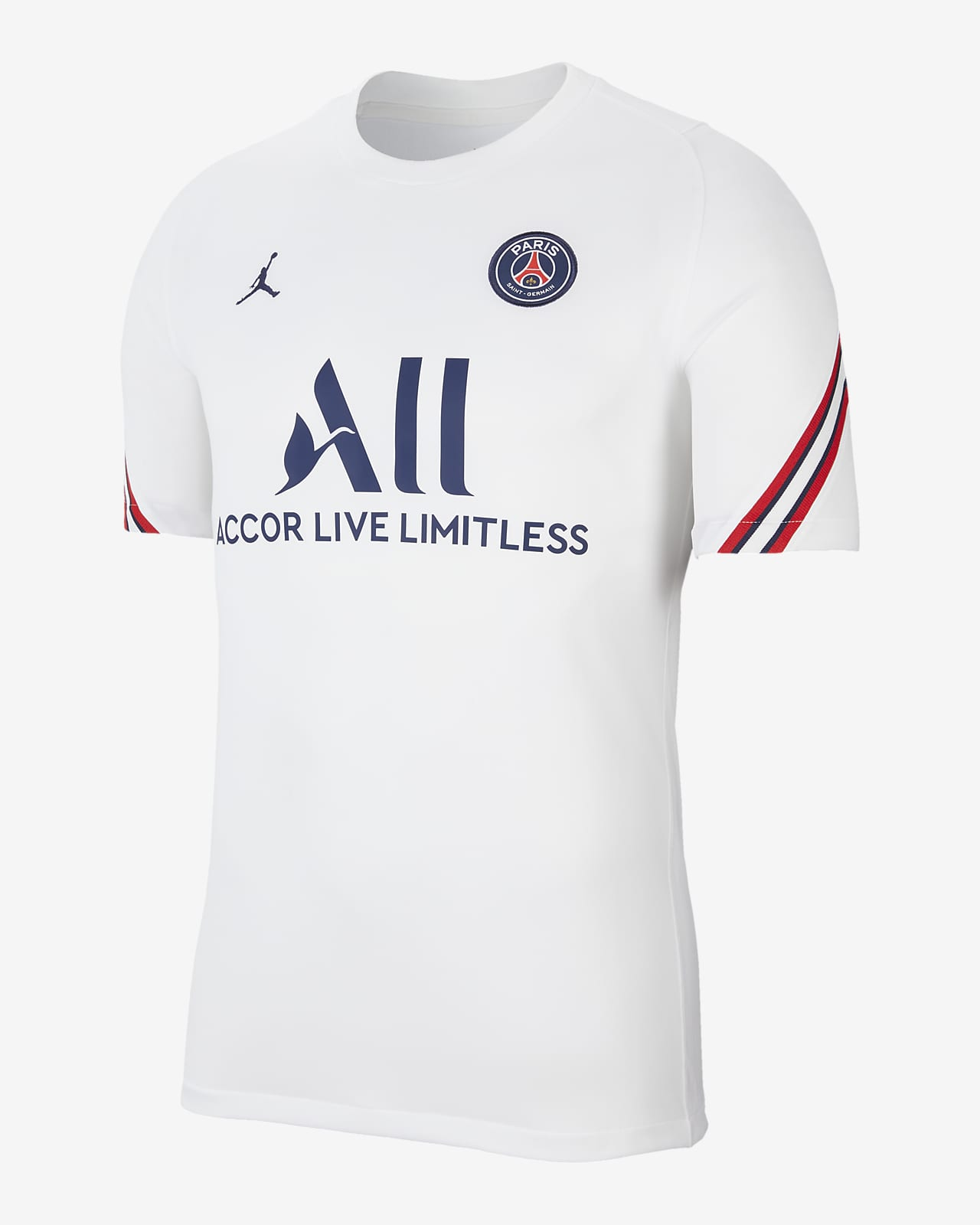 Camiseta de fútbol de manga corta para hombre Paris Saint-Germain Strike Home