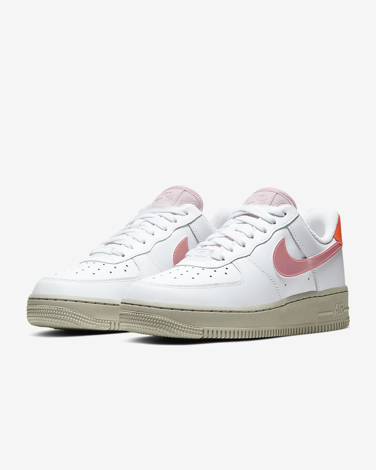 nike air force 1 07 femme rose