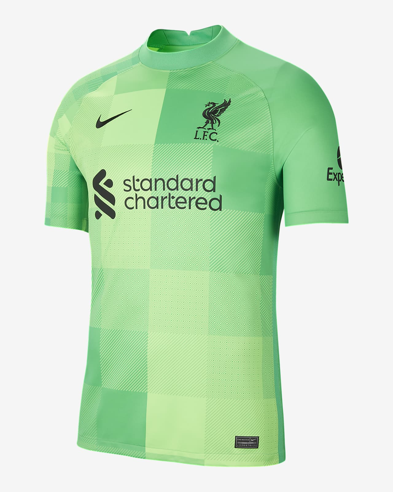Liverpool F.C. 2021/22 Stadium Goalkeeper Men's Football Jersey