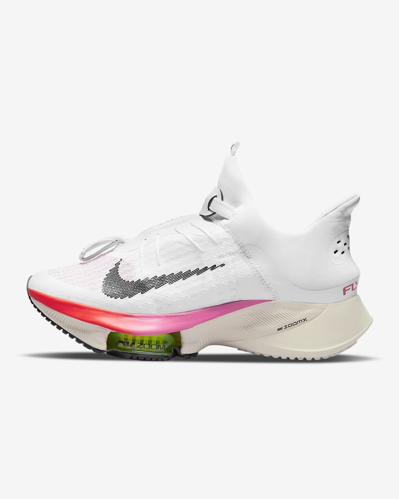 Scarpa da running su strada facile da indossare Nike Air Zoom Tempo Next% FlyEase - Donna