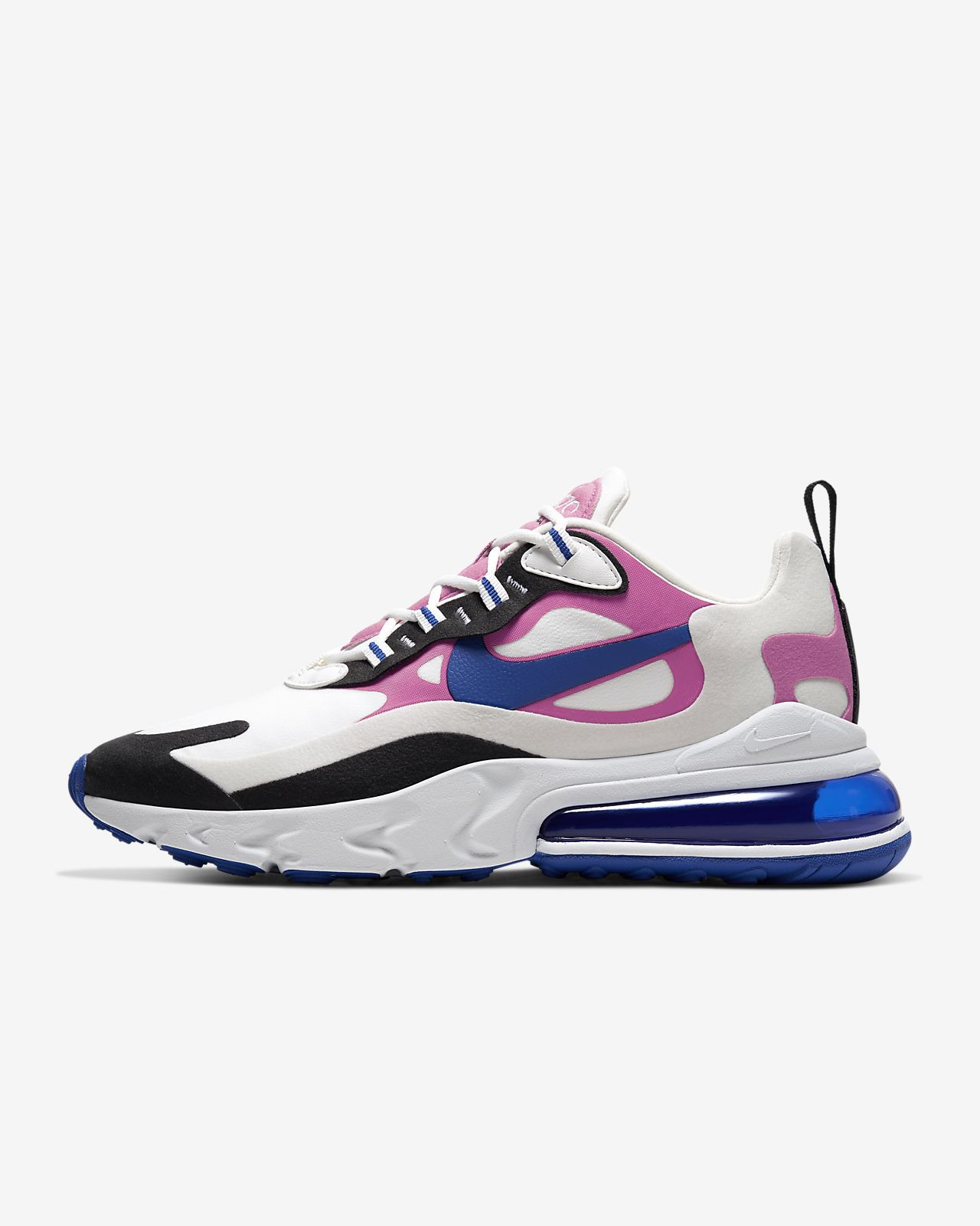 nike air max 270 react pink and white
