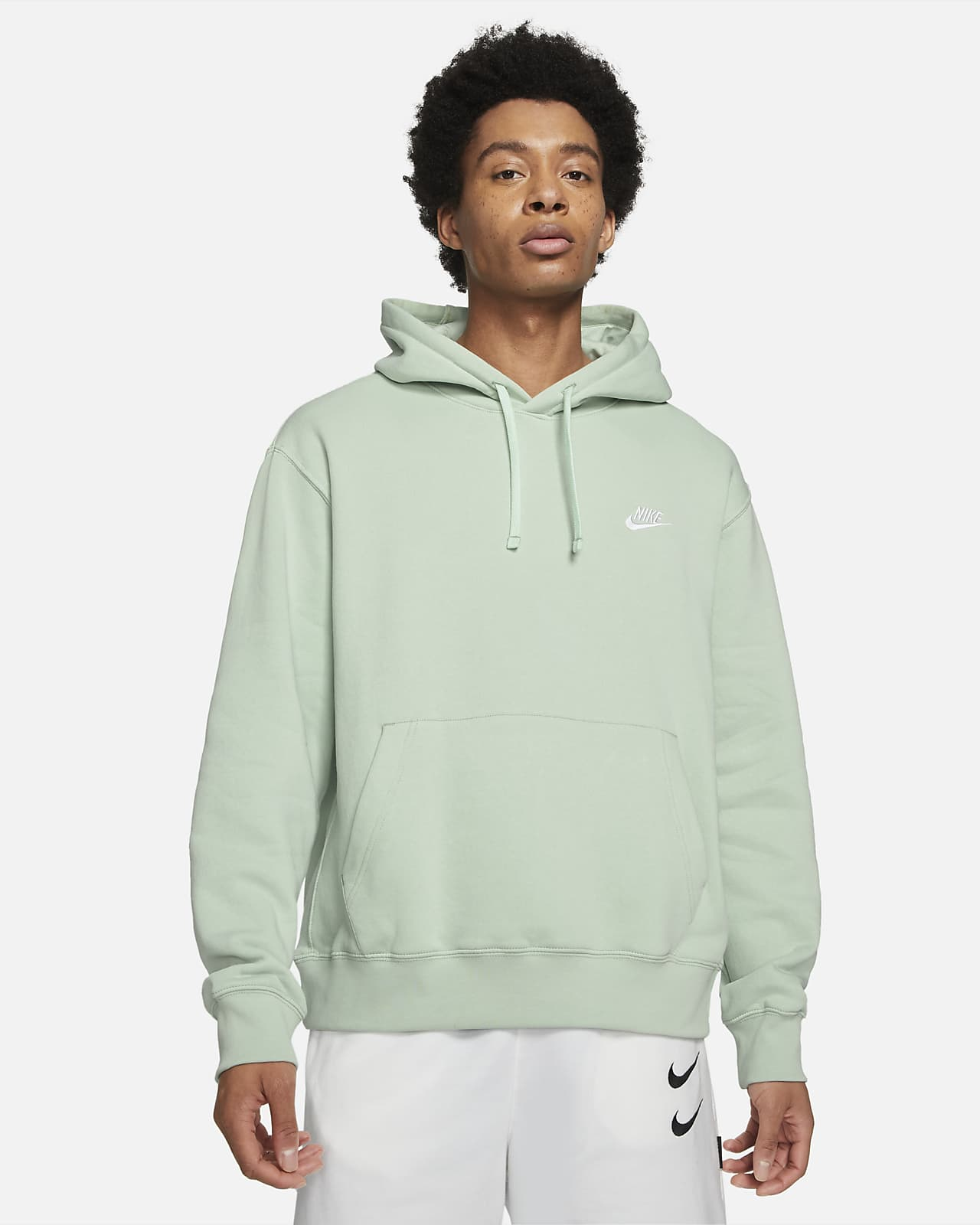 Męska bluza z kapturem Nike Sportswear Club Fleece