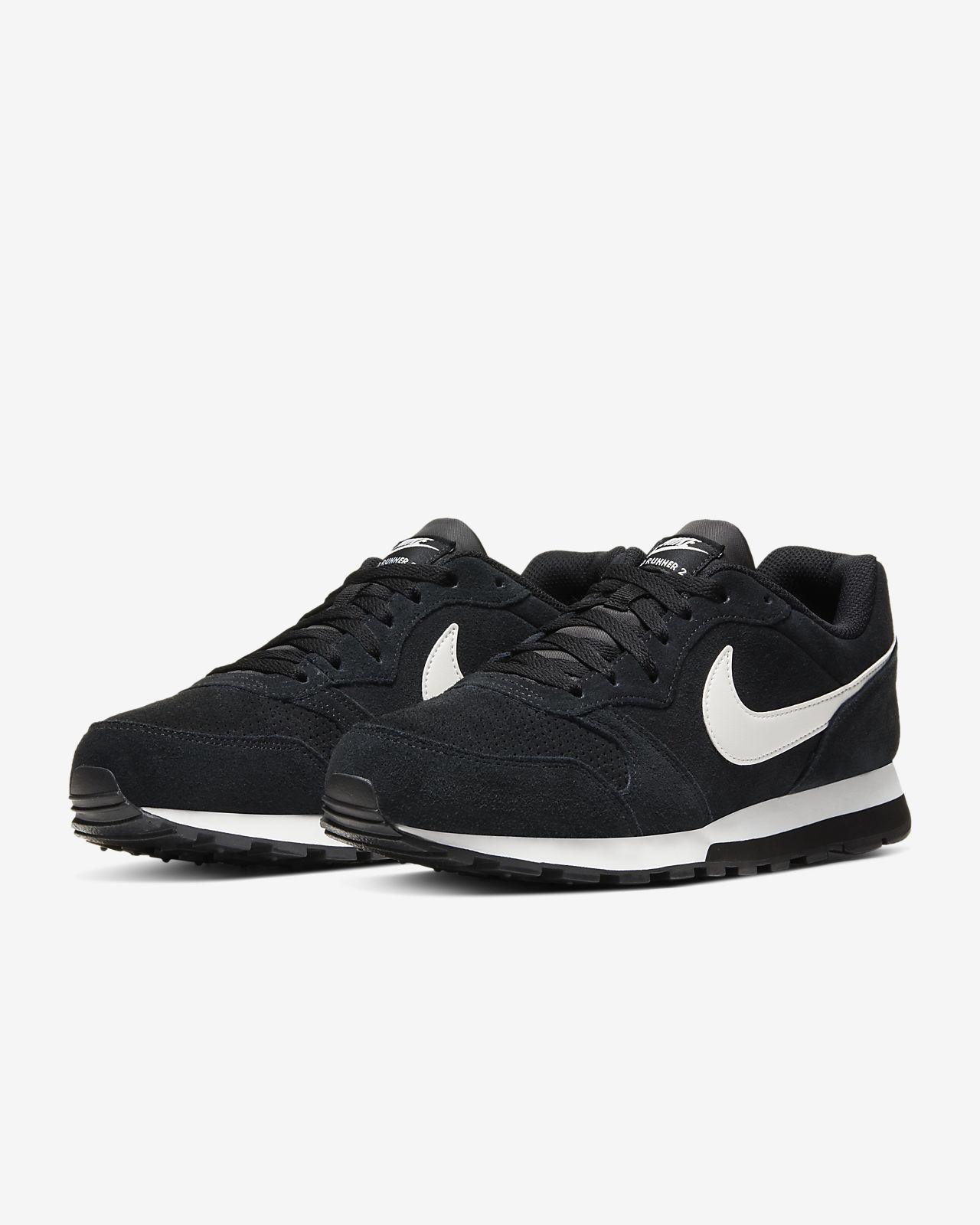 Buty Nike Md Runner 2 Suede M AQ9211 004 czarne