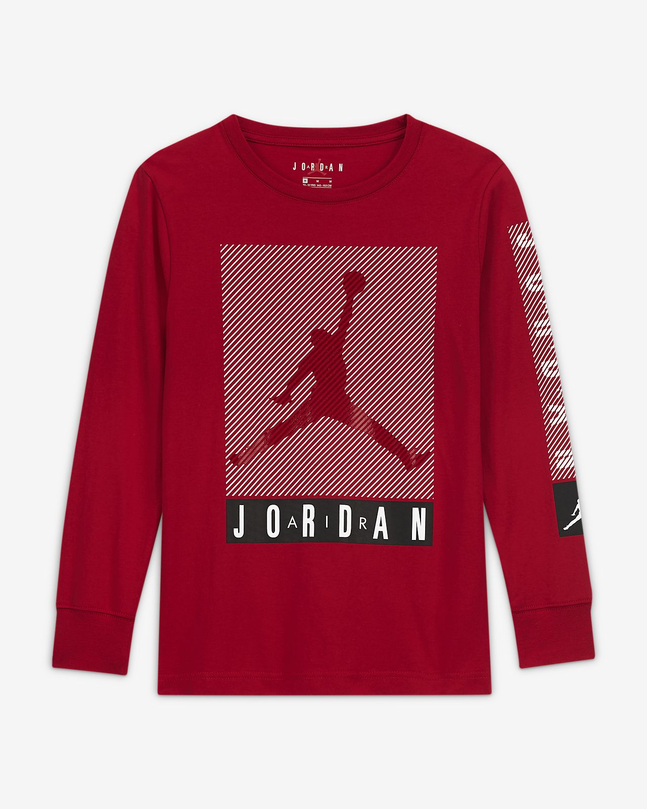 Jordan Big Kids' (Boys') Long-Sleeve T-Shirt