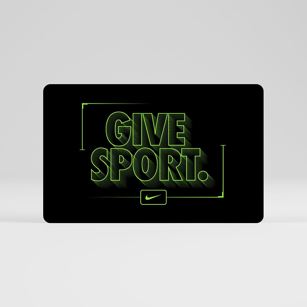 Dárková karta Nike