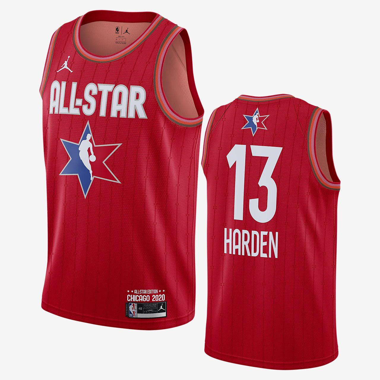 James Harden All-Star Jordan NBA Swingman Jersey
