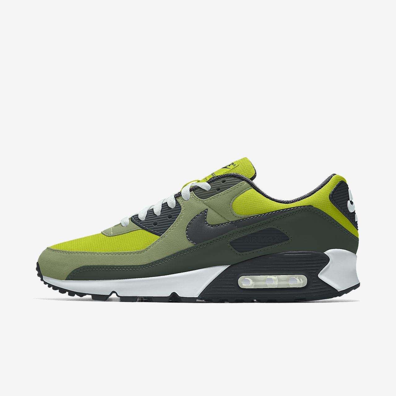 Scarpa lifestyle personalizzabile Nike Air Max 90 Unlocked By You Uomo