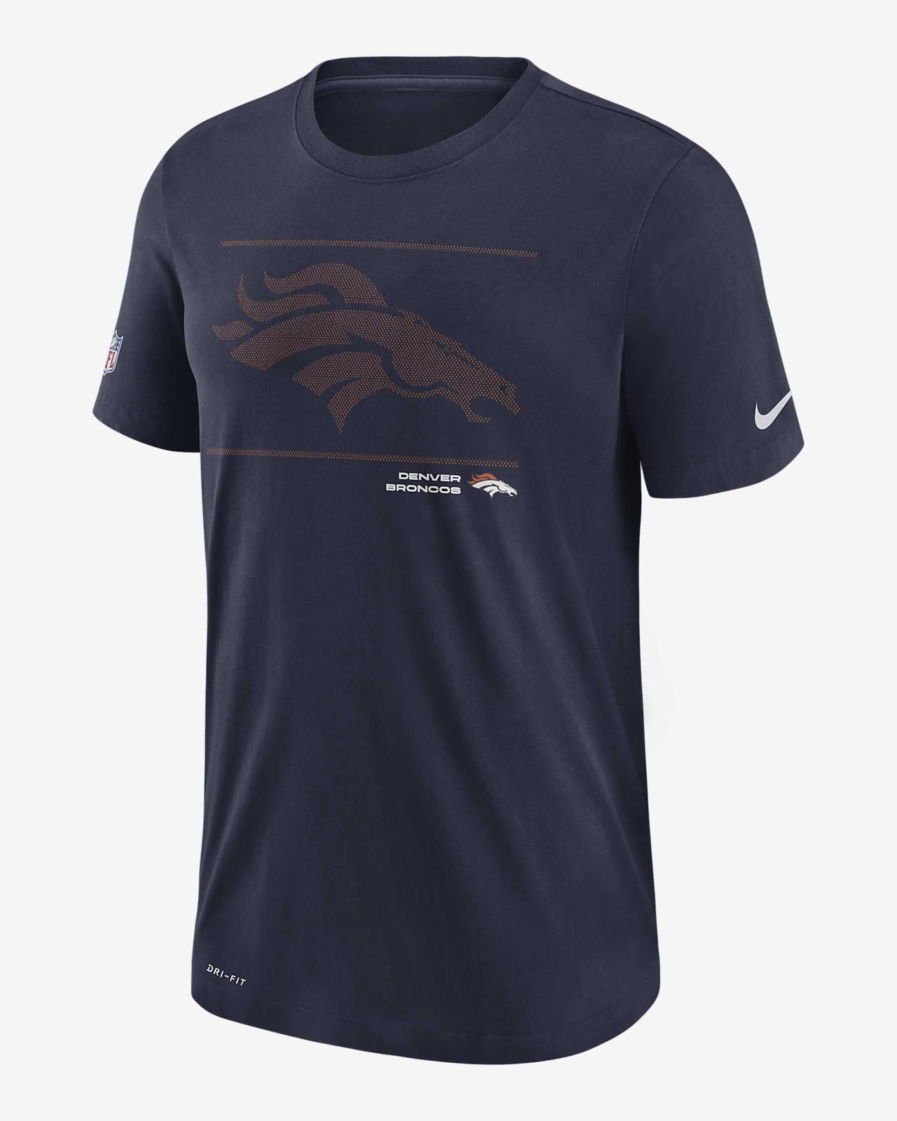 Nike Dri-FIT Sideline Team Issue (NFL Denver Broncos) Men's T-Shirt