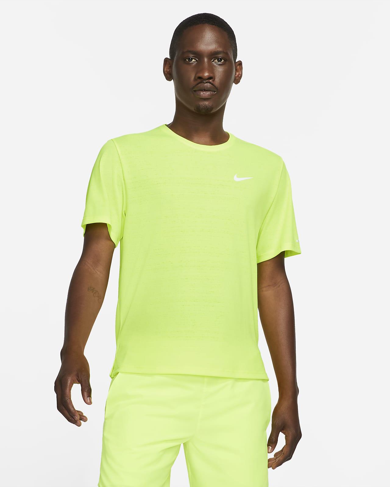 Pánské běžecké tričko Nike Dri-FIT Miler