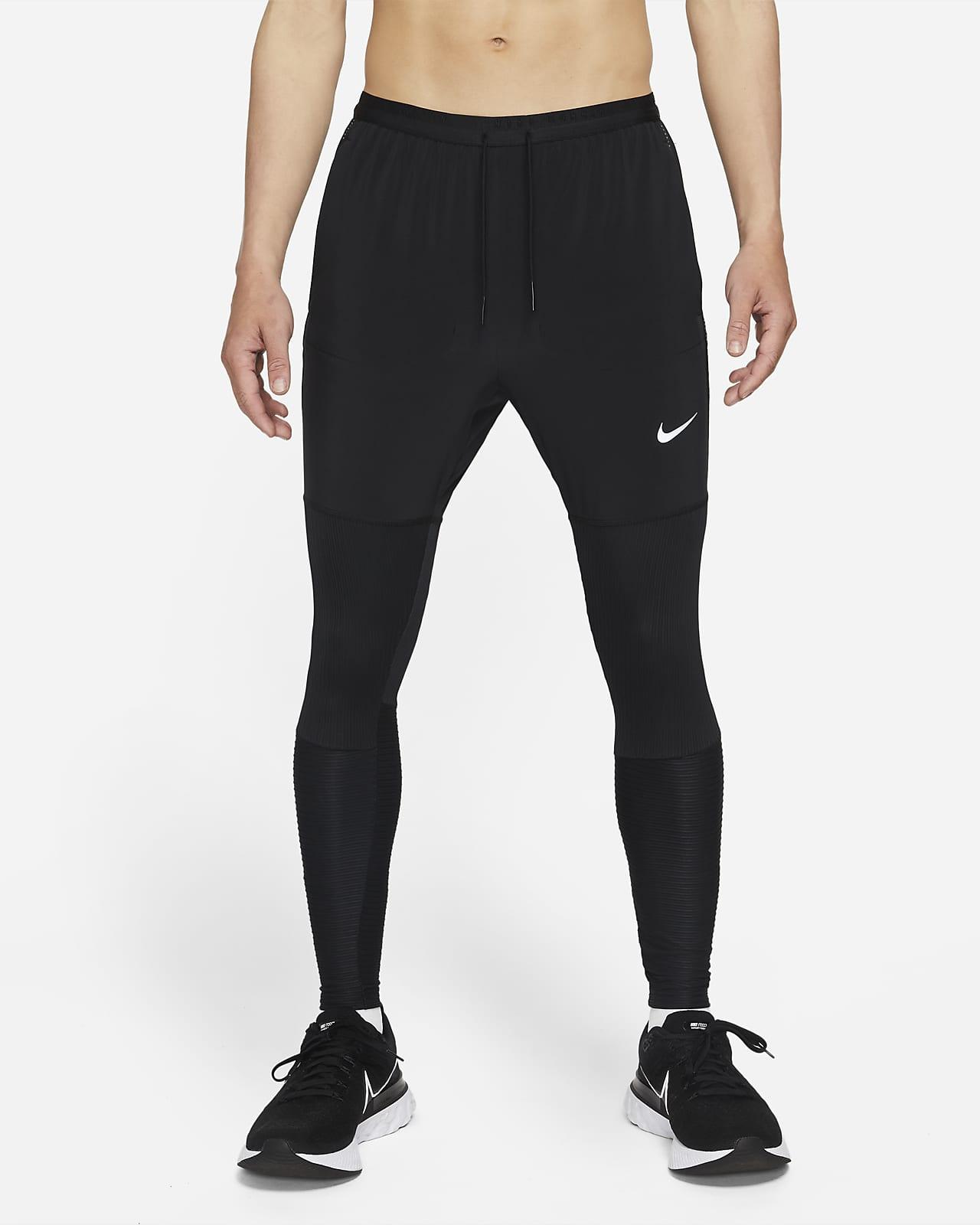 กางเกงวิ่งขายาวผู้ชายไฮบริดเต็มความยาว Nike Dri-FIT Phenom Run Division