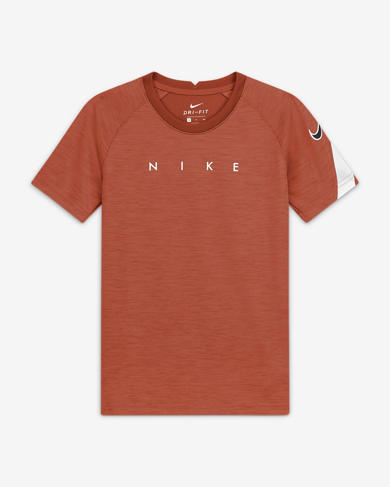 Nike Dri-FIT Academy Older Kids' Short-Sleeve Graphic Football Top