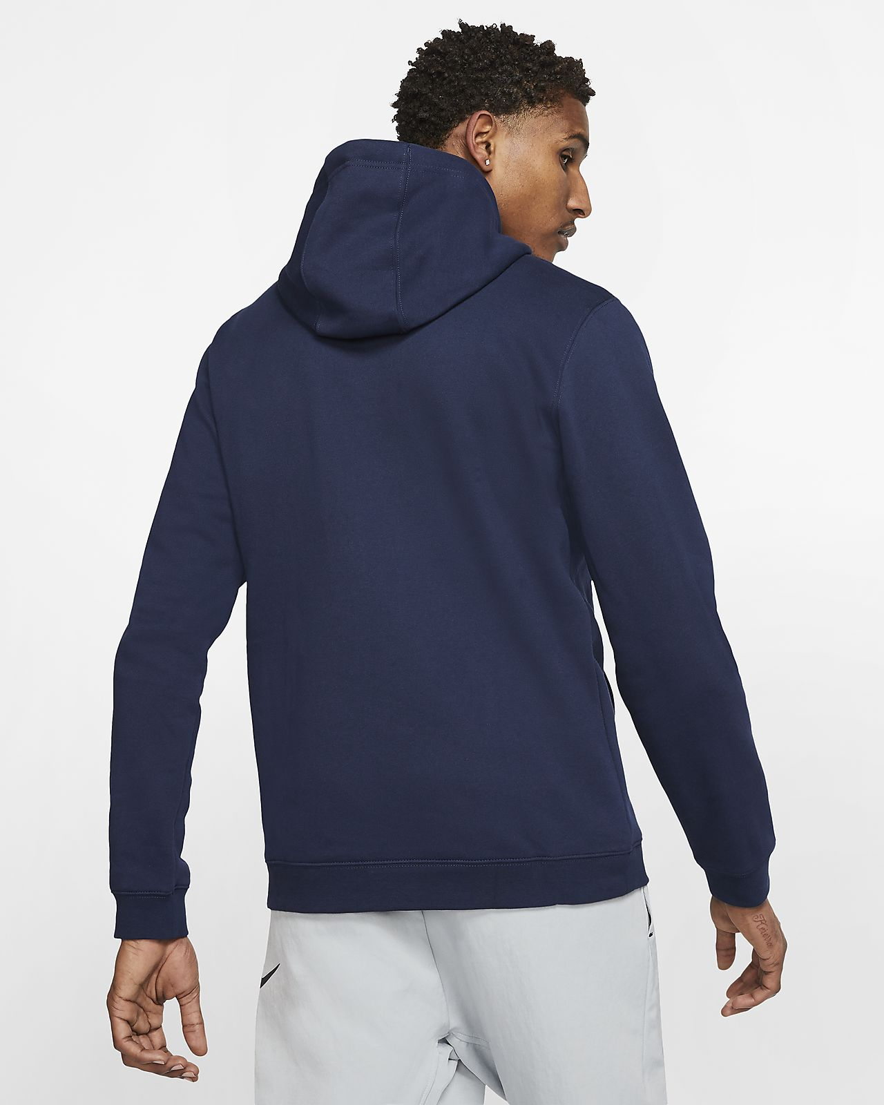 nba logo hoodie nike