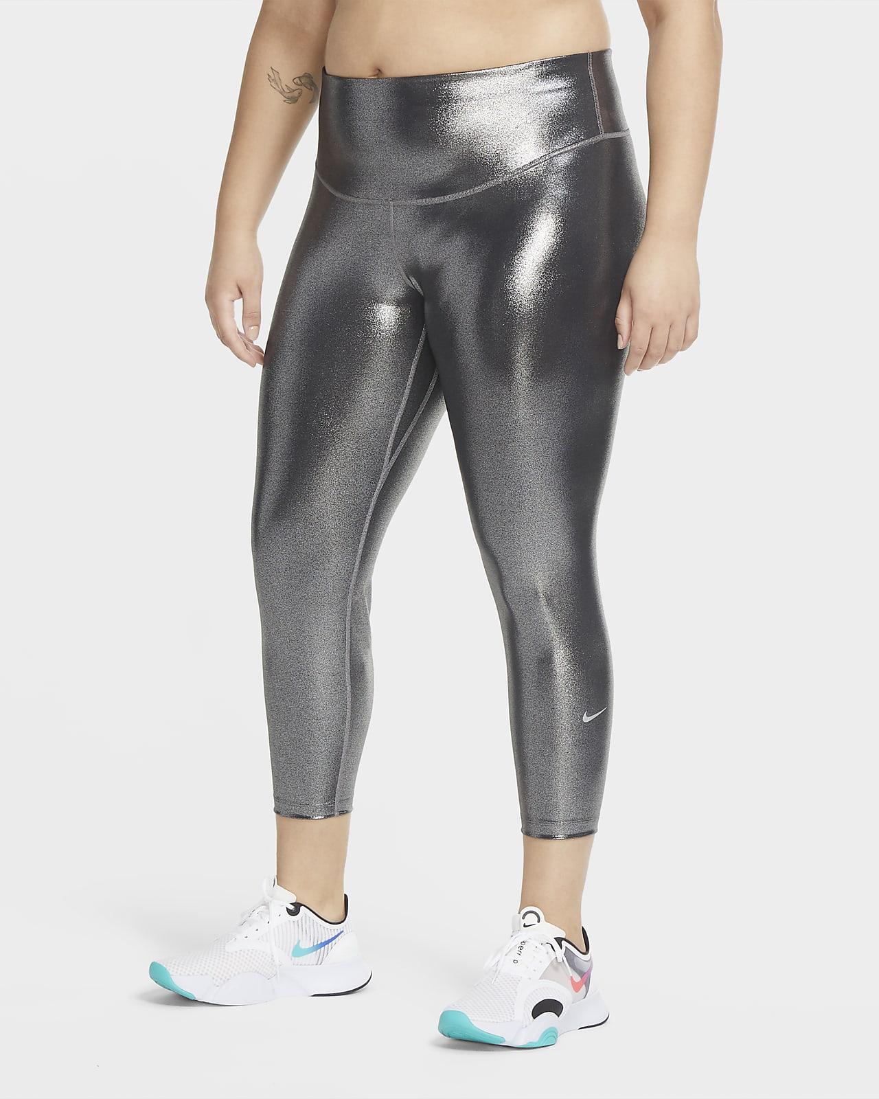 Nike One Icon Clash-tights i 7/8-længde til kvinder (Plus size)