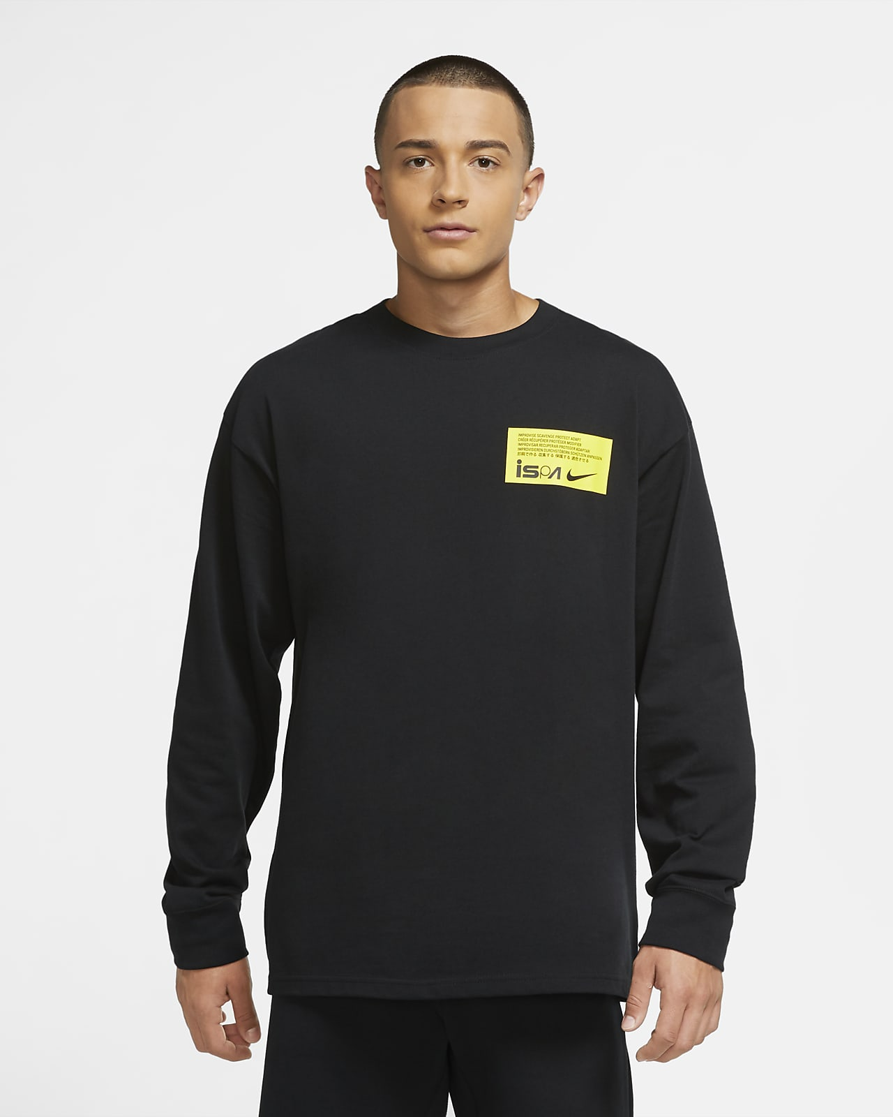 Nike ISPA Camiseta de manga larga - Hombre